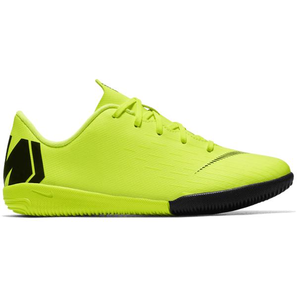 Nike Jr Vaporx 12 Academy Ps Ic Jalkapallokengät VOLT/BLACK (Sizes: US 11C)