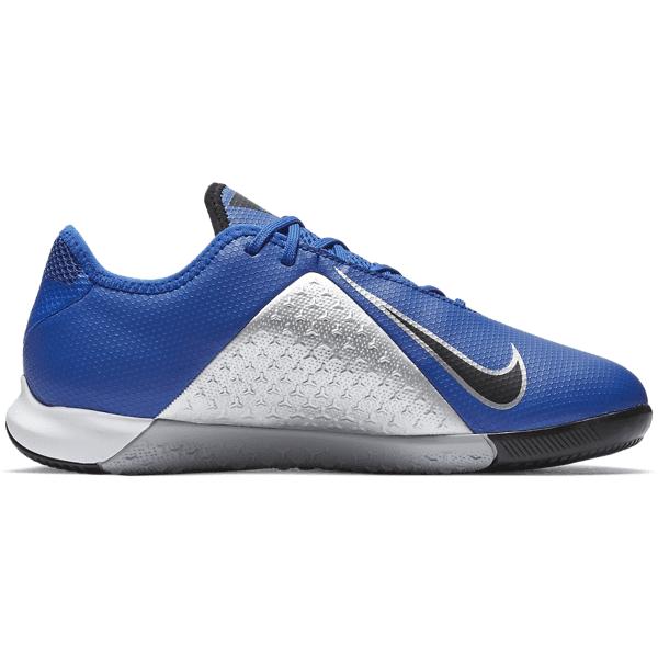 Nike Jr Phantom Vsn Academy Ic Jalkapallokengät RACER BLUE/BLACK-M (Sizes: US 6)