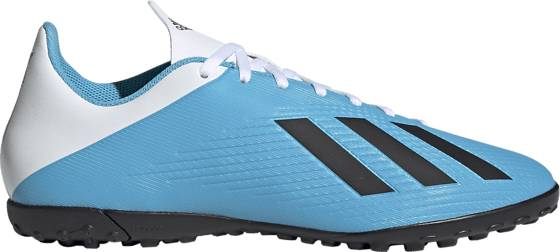 Adidas X 19,4 Tf Jalkapallokengät BRCYAN/CBLACK/SHOP (Sizes: UK 8.5)
