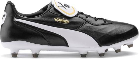 Puma King Top Fg Jalkapallokengät PUMA BLACK-PUMA WH (Sizes: UK 7)
