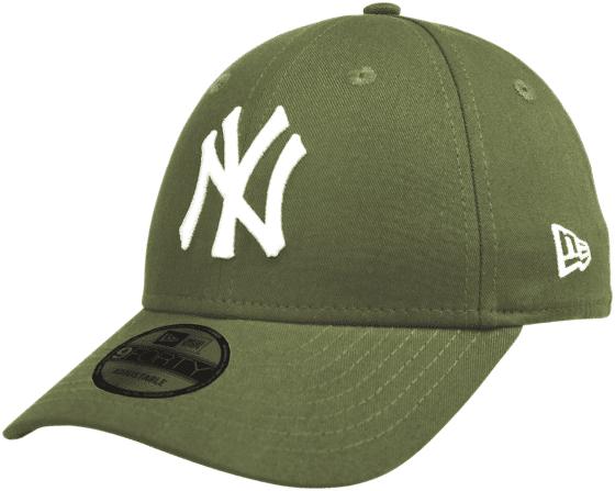 New Era 9forty Lippikset GREEN/WHITE (Sizes: One size)