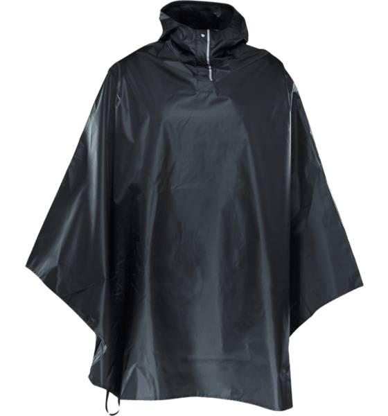 Everest U Poncho Retkeilyvaatteet BLACK (Sizes: One size)