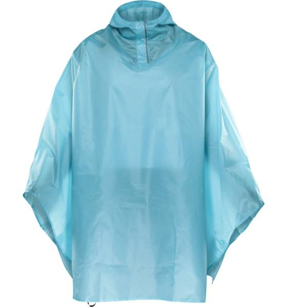 Everest U Poncho Retkeilyvaatteet LIGHT TURQUISE (Sizes: One size)