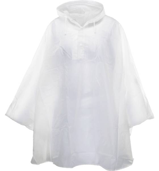 Revolution U Poncho Retkeilyvaatteet TRANSPARENT (Sizes: One size)