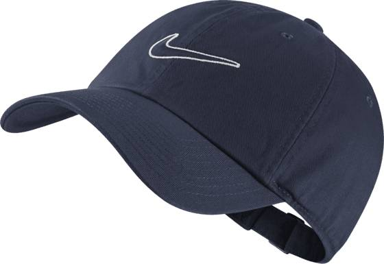 Image of Nike U Nk H86 Cap Essential Swsh Lippikset OBSIDIAN/OBSIDIAN (Sizes: One size)