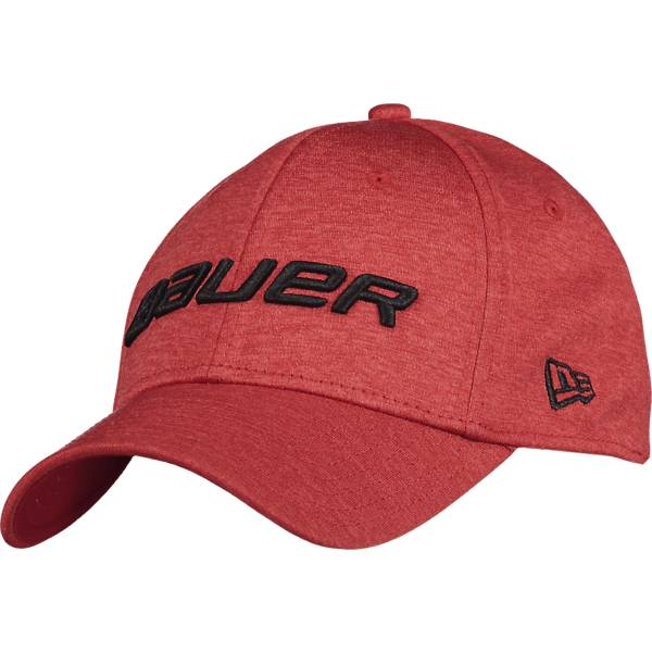 Image of Bauer New Era 39thirty Lippikset RED (Sizes: S/M)