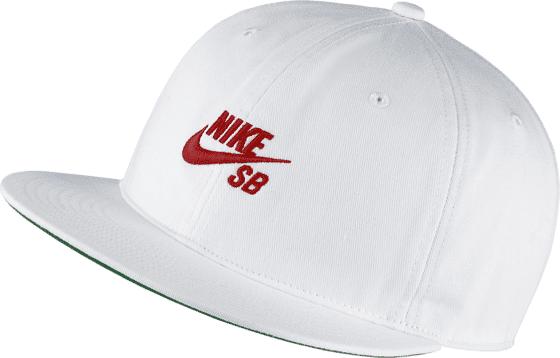 Nike Sb U Pro Cap Vintage Lippikset WHITE/RED (Sizes: One size)