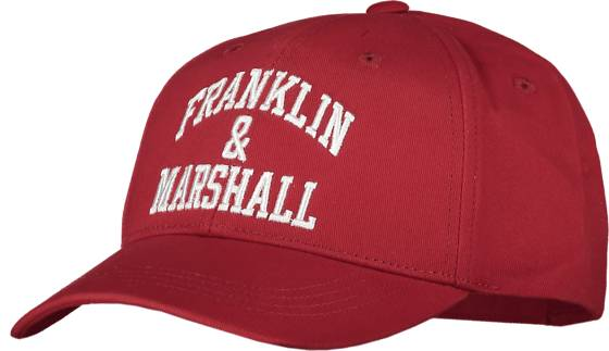 Marshall Franklin & Marshall J Franklin Logo Cap Lippikset TANGO RED (Sizes: One size)