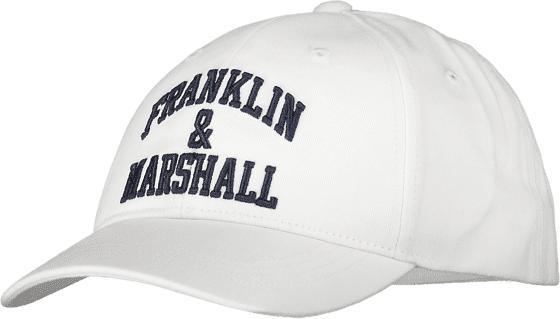 Marshall Franklin & Marshall J Franklin Logo Cap Lippikset BRIGHT WHITE (Sizes: One size)