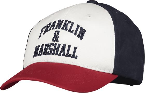 Marshall Franklin & Marshall J Logo Blocked Cap Lippikset NAVY BLAZER (Sizes: One size)