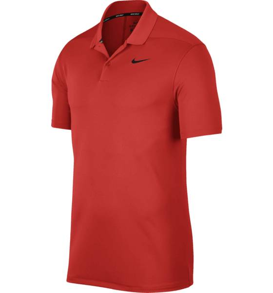 Image of Nike M Nk Dry Victory Polo Solid Polo Golfvaatteet HABANERO RED (Sizes: S)