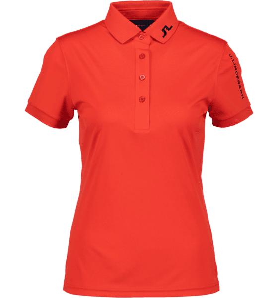 J Lindeberg W Tour Tech Slim Tx Jersey Golfvaatteet RACING RED (Sizes: S)