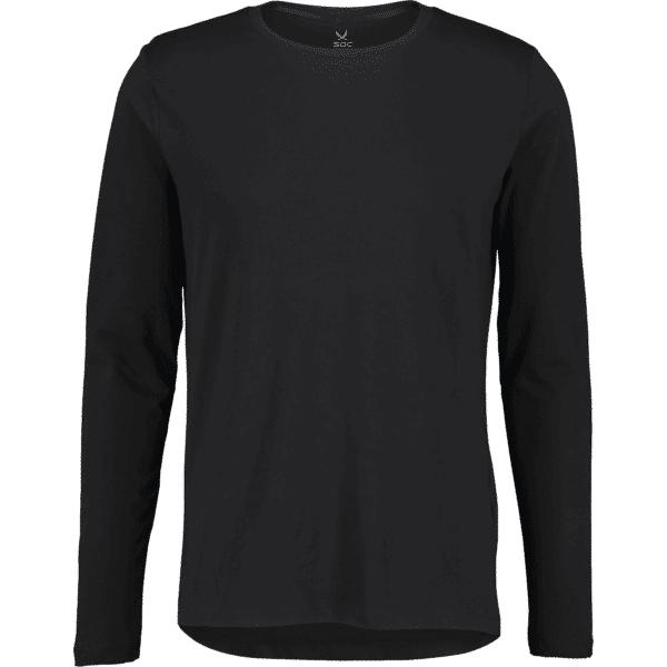 Image of Soc M Long Sleeve Tee Puuvilla t-paidat BLACK (Sizes: S)