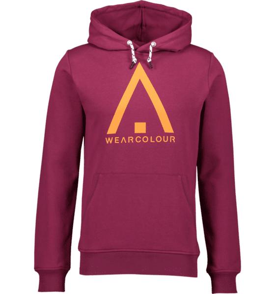 Image of Wearcolour M Wear Hood Hupparit TIBETAN RED (Sizes: S)