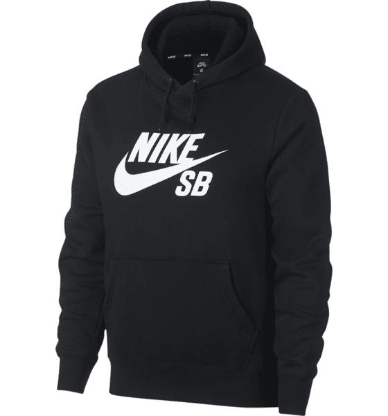 Nike Sb M Sb Icon Hoodie Hupparit BLACK (Sizes: L)