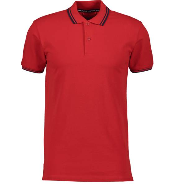 Image of Race Marine M Cotton Pique Paidat & pikeepaidat RED (Sizes: S)