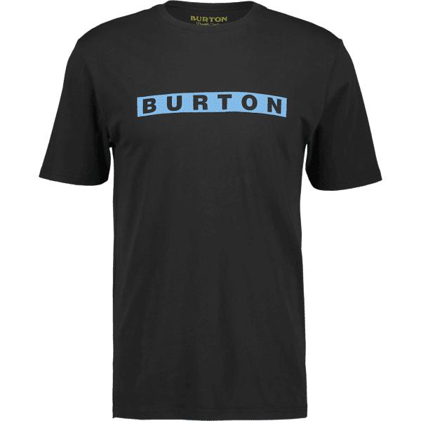 Burton M Deep Thinker Ss Tee Puuvilla t-paidat TRUE BLACK (Sizes: M)