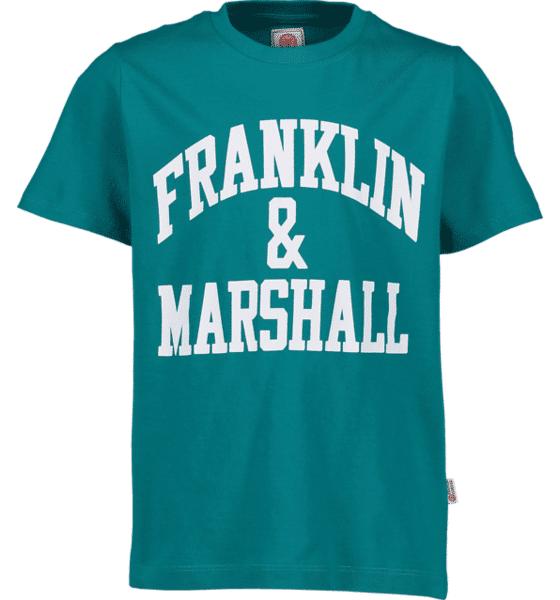Marshall Franklin & Marshall J F And M Cf Logo Tee T-paidat SHARK TALE (Sizes: 14-15 Y)