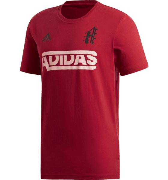 Image of Adidas M Sid Jersey Tee Puuvilla t-paidat ACTIVE MAROON (Sizes: S)