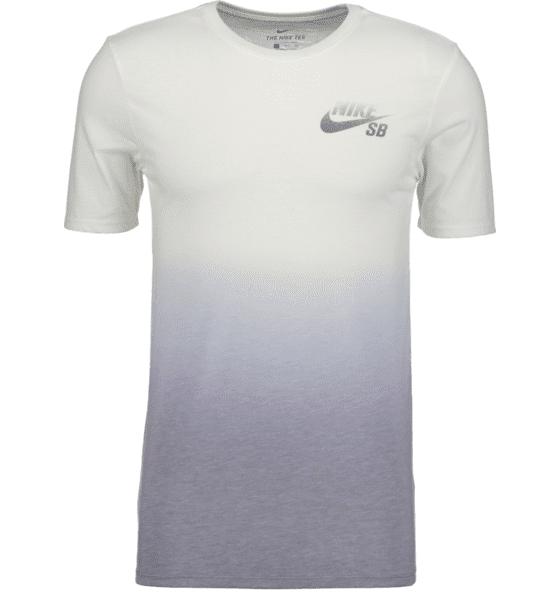Nike M Dry Tee Sb Db Dip Dye Puuvilla t-paidat WHITE/COOL GREY (Sizes: L)