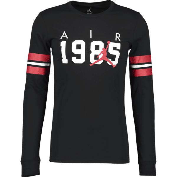 Jordan M Jsw Tee Fa Brand 6 Puuvilla t-paidat BLACK/WHITE/GYM RE (Sizes: XL)