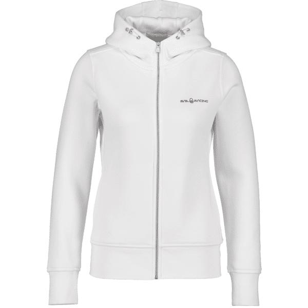 Sail Racing W Gale Zip Hood Hupparit WHITE (Sizes: M)