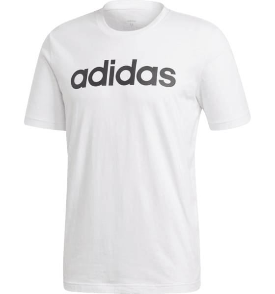 Image of Adidas M Lin Tee Puuvilla t-paidat WHITE (Sizes: S)
