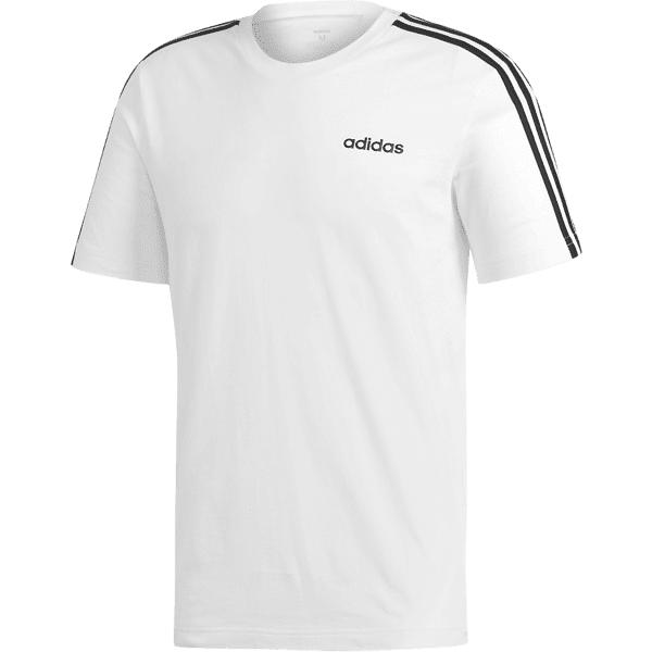 Adidas M E 3s Tee Puuvilla t-paidat WHITE (Sizes: L)