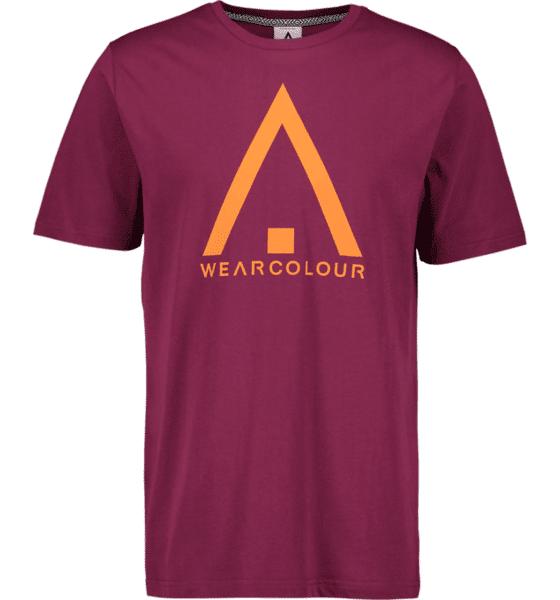 Image of Wearcolour M Wear Tee Puuvilla t-paidat TIBETAN RED (Sizes: S)