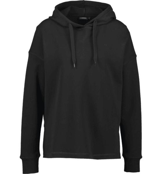 J Lindeberg W Deni Cotton Sweat Hupparit BLACK (Sizes: L)