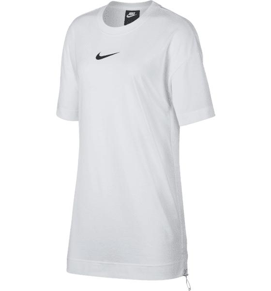 Image of Nike W Nsw Swsh Dress Puuvillatopit WHITE/BLACK (Sizes: XS)