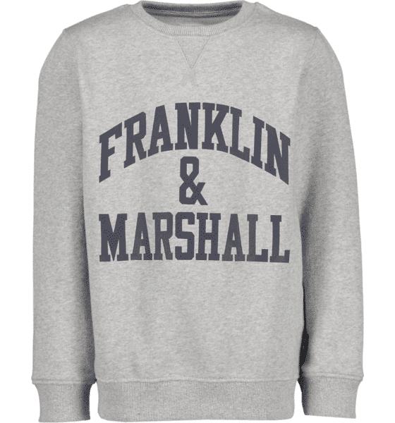 Marshall Franklin & Marshall J F And M Sweater Hupparit VINTAGE GREY HTHR (Sizes: 7-8 Year)