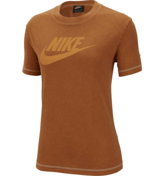 Nike W Ss Top Rebel Puuvillatopit BURNT SIENNA (Sizes: S)