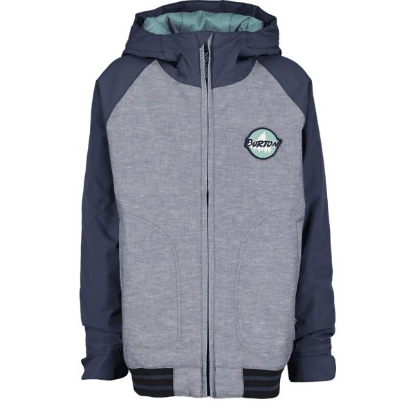Burton B Game Day Jacket Lasketteluvaatteet GREY/BLUE (Sizes: JR S)