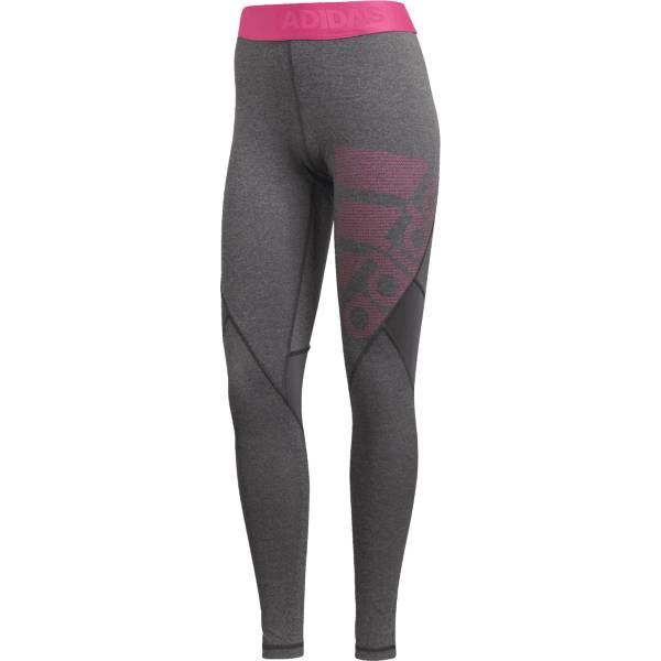 Adidas W Ask Spr Tight Lg Treenivaatteet GREY/PINIK (Sizes: M)
