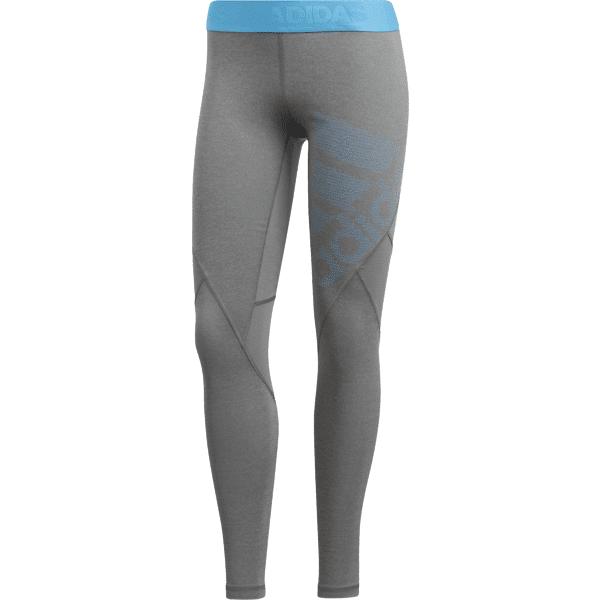 Adidas W Ask Spr Tight Lg Treenivaatteet GREY/BLUE (Sizes: M)