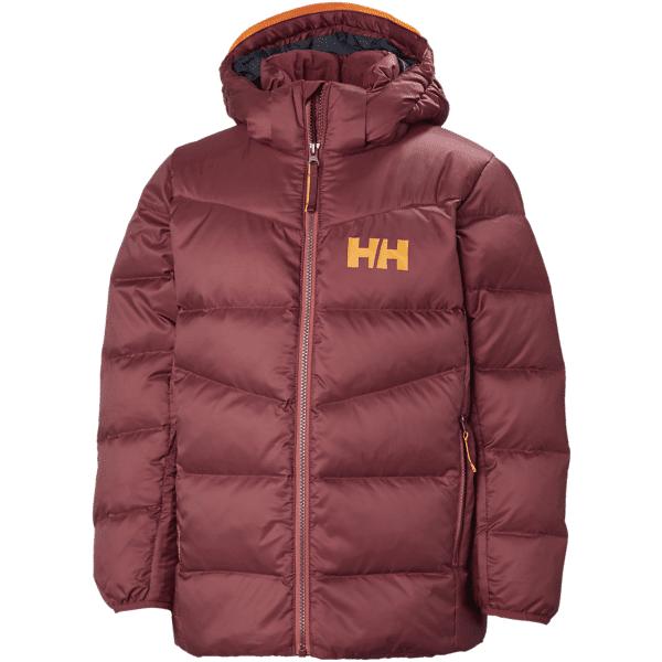 Helly Hansen Jr Isfjord Down Mix Jacket Untuvatakit CABERNET (Sizes: 152)