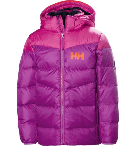 Helly Hansen Jr Isfjord Down Mix Jacket Untuvatakit FESTIVAL FUCHSIA (Sizes: 152)