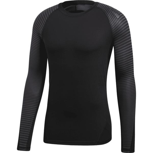 Adidas M Ask Spr Tee Ls Treenivaatteet BLACK (Sizes: L)
