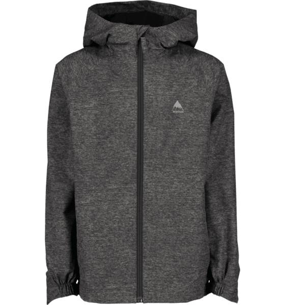 Burton J Windom Rain Jacket Sadevaatteet PHANTOM HTHR GREY (Sizes: JR XL)