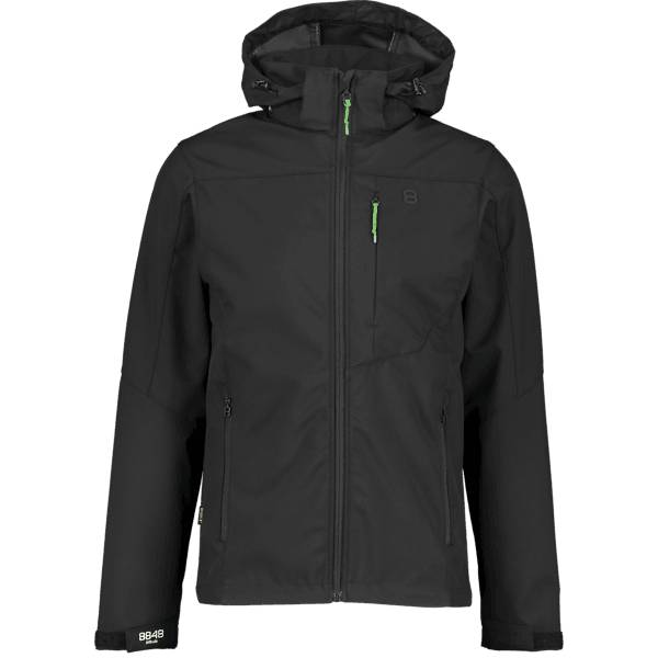 8848 Altitude M Padore Softshell Jacket Retkeilyvaatteet BLACK (Sizes: XXL)
