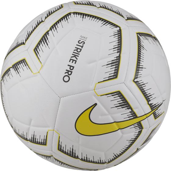 Nike Strike Pro Fifa Ball Jalkapallot WHITE/WHITE/OPTI Y (Sizes: 5)