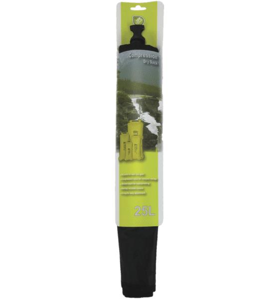Jr Gear Compression Dry Sack 25l Retkeilytarvikkeet BLACK (Sizes: No Size)
