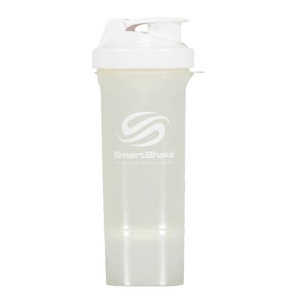 Smartshake Smartshake Slim 500ml Juoksutarvikkeet PURE WHITE (Sizes: One size)