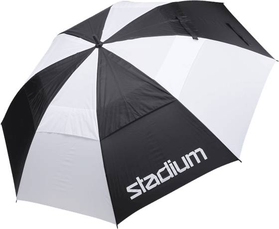 Golf Gear Umbrella Storm Golftarvikkeet BLACK/STADIUM (Sizes: No Size)