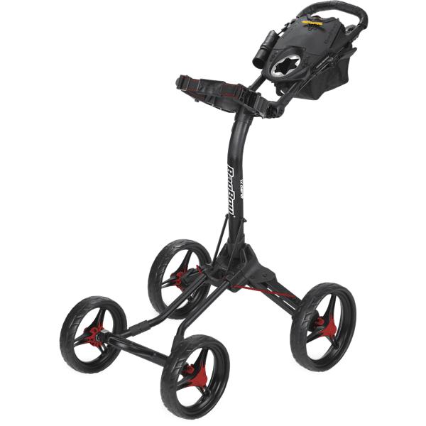 Bagboy Quad Xl Cart Golfkärryt & bägit MATT BLACK/RED ACC (Sizes: No Size)