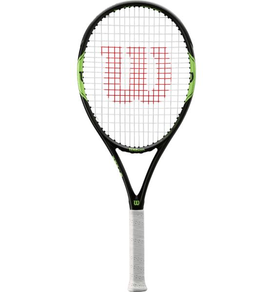 Wilson Milos Lite 105 Tennismailat BLACK/GREEN (Sizes: 3)