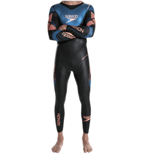 Speedo M Fastskin Xenon Fullsuit Märkäpuvut BLACK/BLUE (Sizes: M)