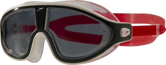 Speedo U Biofuse Rift Mask Uintitarvikkeet LAVA RED/OXID GREY (Sizes: One size)