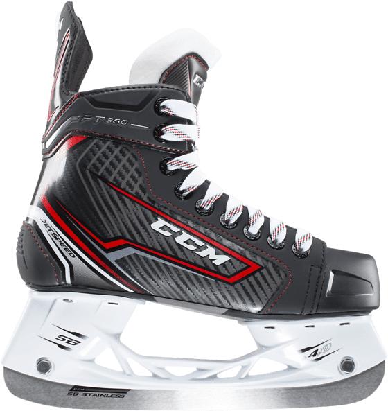 Ccm Js Ft360 Skate Jr Jääkiekkoluistimet BLACK/RED EE WIDTH (Sizes: 4)